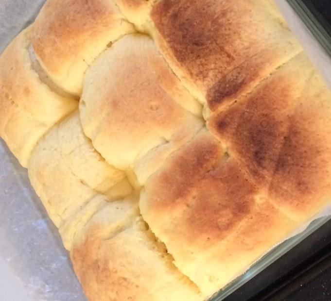 お豆腐で!ちぎりメロンパン【手ごね】