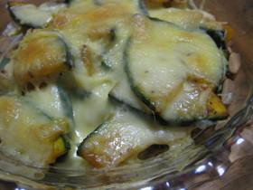 シンプルに☆カボチャのチーズ焼き
