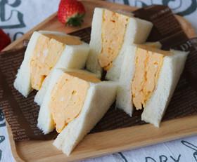 関西風 厚焼き玉子のサンドイッチ by アンジェ公式キッチン ...