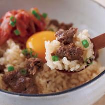 「味つけ冷凍ミンチ」でビビンバ風そぼろご飯