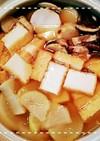 土鍋で簡単!大根と厚揚げの冬野菜中華風鍋