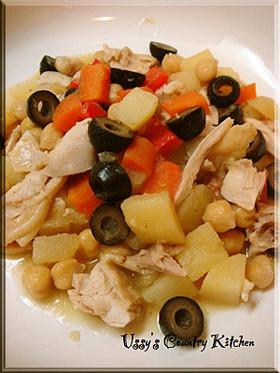 鶏肉と野菜達のコロコロ煮♪