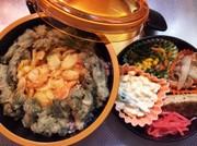 【お弁当】お手軽!天丼お弁当の写真