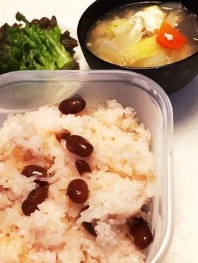 炊飯器で簡単・早い!北海道の甘納豆お赤飯