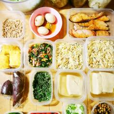 作り置きおかず常備菜で糖質制限4.5日