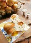 紅茶とりんごのきのこ型プチパン