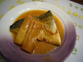 レンジで簡単!ウマイ鯖の味噌煮