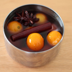 金柑の黒糖スパイス煮