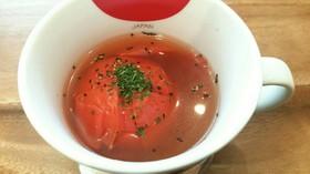 簡単♡カップでチン♪トマトまるごとスープ
