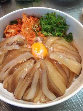イカの沖漬け~贅沢卵かけごはん~