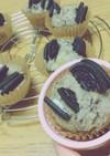 簡単♡豆腐&豆乳&HMのオレオマフィン