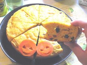 秋色ハロウィン オバケーキ