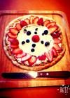 自宅で簡単!チョコベースのデザートピザ