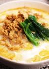 ヘルシー豆乳担々麺