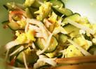 きゅうりカニカマレモン汁サラダ