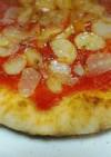 魚焼きグリルで手作りピザ☆マリナーラ