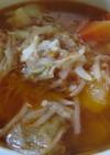 圧力鍋で時短 トマトチキンスープ