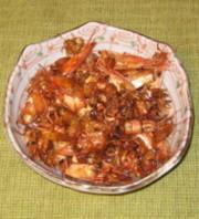 甘エビの出し殻の唐揚げの写真