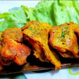 凄く柔らか 鶏胸肉のカレーチーズピカタ