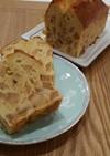 シナモンりんごで♪簡単パウンドケーキ。