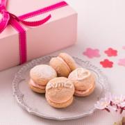 桜ブッセの写真