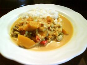 食べる風邪薬 魚と野菜のカレー煮