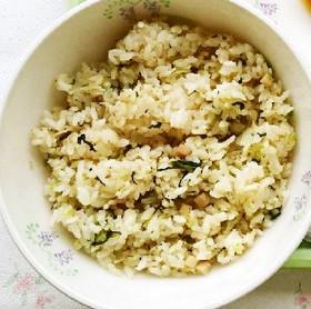 小松菜チャーハン