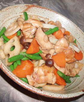 手軽に!鶏肉と野菜の照り煮