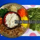 韓国風♪カラフル手巻き寿司