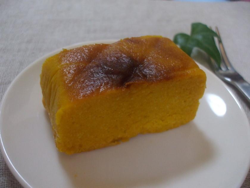 ノンオイル!かぼちゃとおからの最強ケーキ