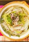 絶品☆白菜と豚肉の柚子胡椒ミルフィーユ鍋