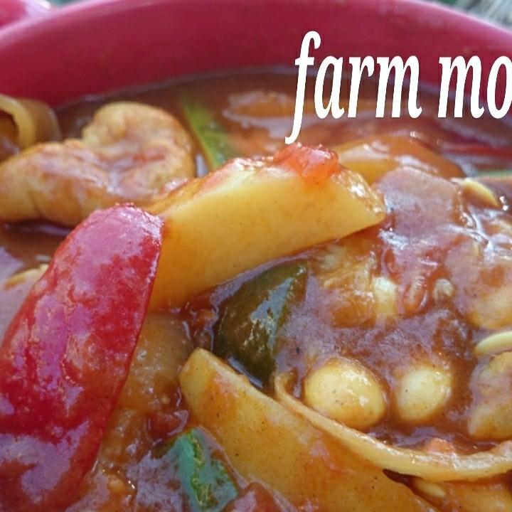 ハマるモロッコ❤チキンと豆と野菜のタジン