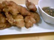 鶏の唐揚~ネギソースを添えて~の写真