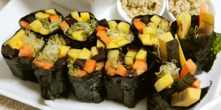 ローフード♪野菜海苔巻き