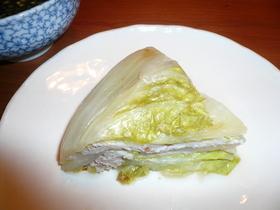 超簡単!!白菜豚ケーキ