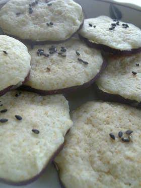 サツマイモのそのまんまクッキー♪