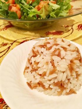 米とリゾーニのピラフ☆トルコ