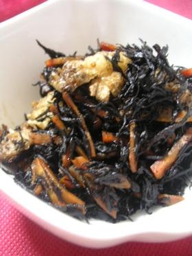 炊飯器でご飯と一緒に炊く●ひじきの煮物●