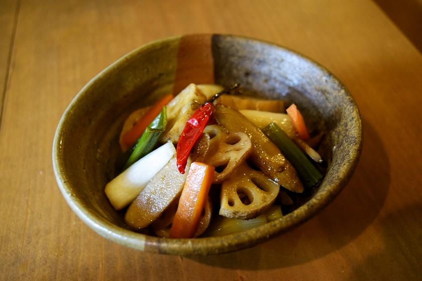 【食品ロス】根菜のエスカベッシュ