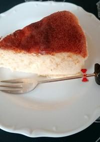 失敗なし!しっとりふわスフレチーズケーキ
