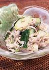 さば水煮缶と大根で頭が良くなる健康サラダ