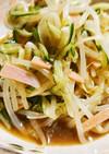 もやしときゅうりと新玉ねぎの中華風サラダ