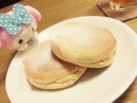 おうちで簡単スフレパンケーキ