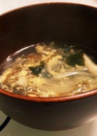 もずく酢スープ