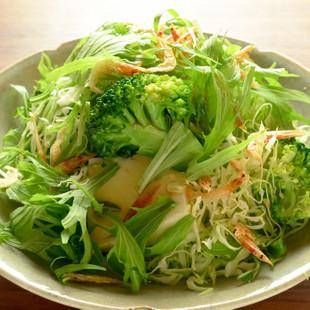 豆腐のボリュームサラダ