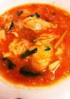 鶏肉のトマト缶煮込み(圧力鍋使用)