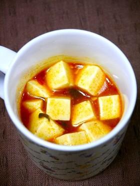 レンジで簡単!カップで麻婆豆腐