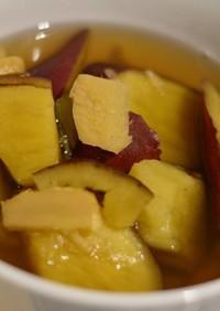 薑汁番薯糖水(生姜と薩摩芋の甘いスープ)