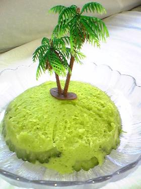 無人島ケーキ
