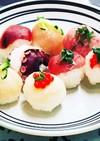ひな祭りは☆可愛い、簡単、手まり寿司♪